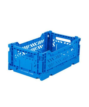 Aykasa Folding Crate - Mini Blue