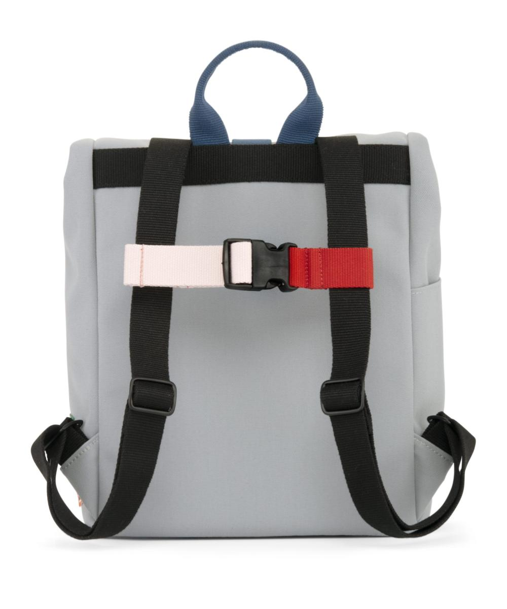 Dusq Mini Bag Canvas - Cloud Grey & Ocean Blue