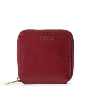O My Bag Sonny Square Wallet Ruby