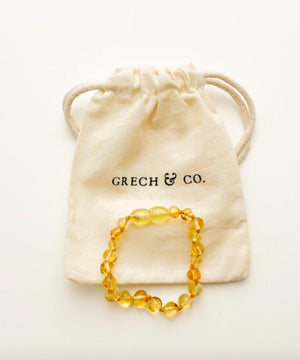 Grech&co Amber bracelet/Anklet ENLIGHTEN