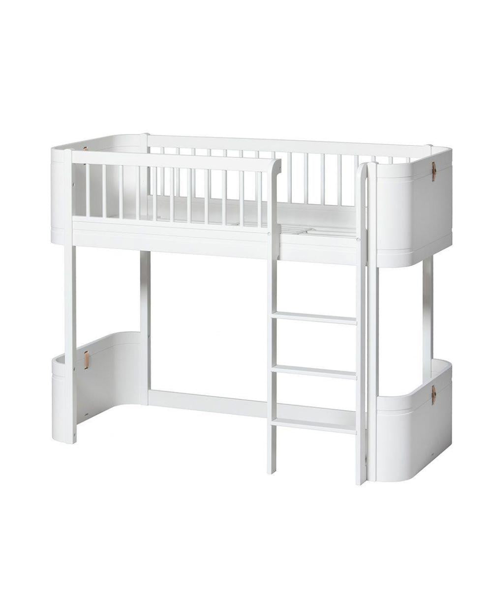 Oliver Furniture Mini+ Junior Halfhoogslaper White