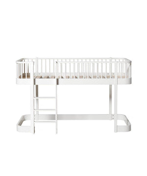 Oliver Furniture Halfhoogslaper White