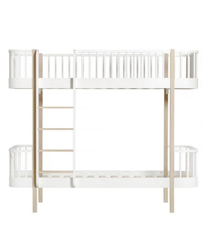 Oliver Furniture Stapelbed White/Oak