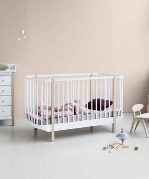 Oliver Furniture Ledikant White/Oak