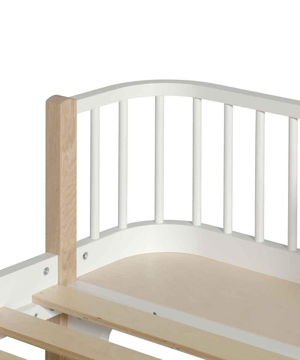 Oliver Furniture Bed White/Oak