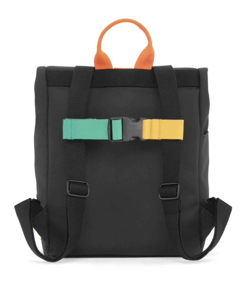 Dusq Mini Bag Canvas - Night Black & Fresh Orange