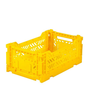 Aykasa Folding Crate - Mini Yellow