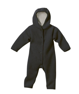 Disana Boiled Wool Overall Anthracite