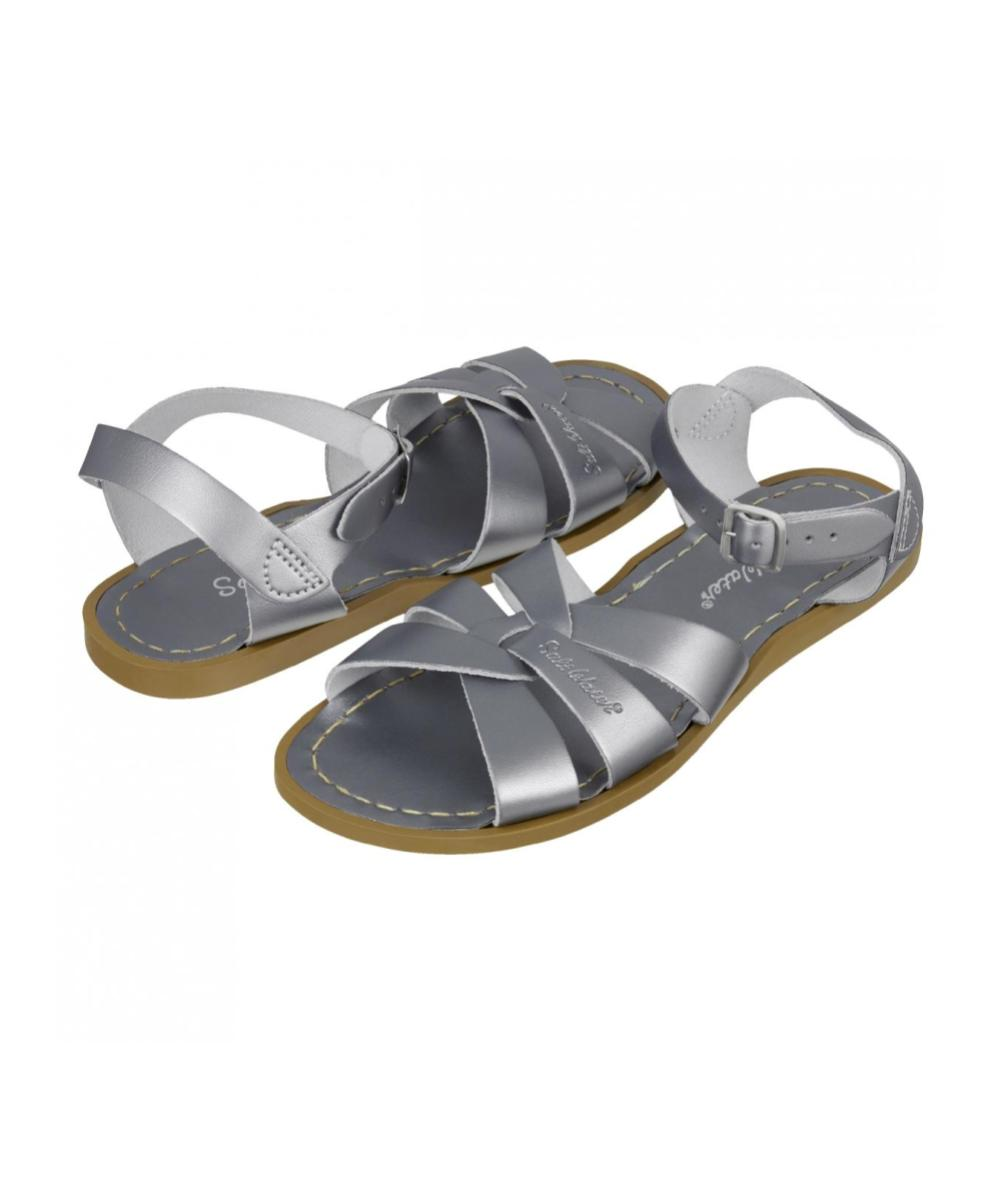 Salt-Water Sandals Original Pewter Kids and Adults