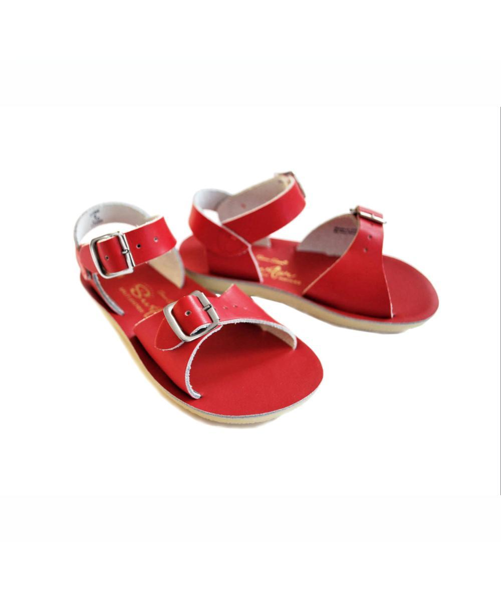 Salt-Water Sandals Kids Surfer Red