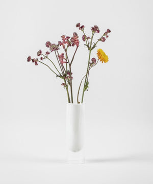 Flower Tube White