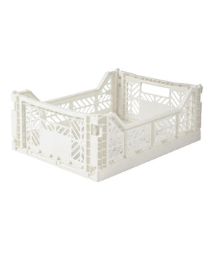 Aykasa Folding Crate - Midi Coconut Milk
