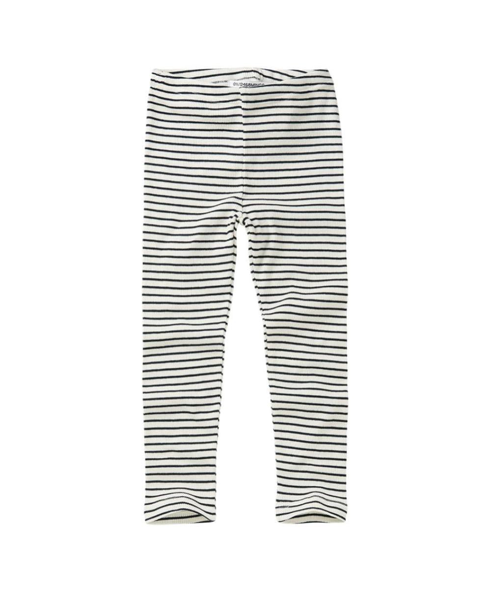 Mingo Baby Legging Stripes Black/White