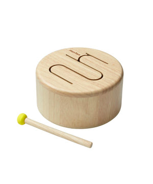 Plantoys Drum naturel