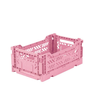 Aykasa Folding Crate - Mini Baby Roze