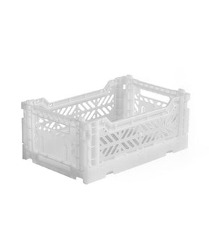 Aykasa Folding Crate - Mini White