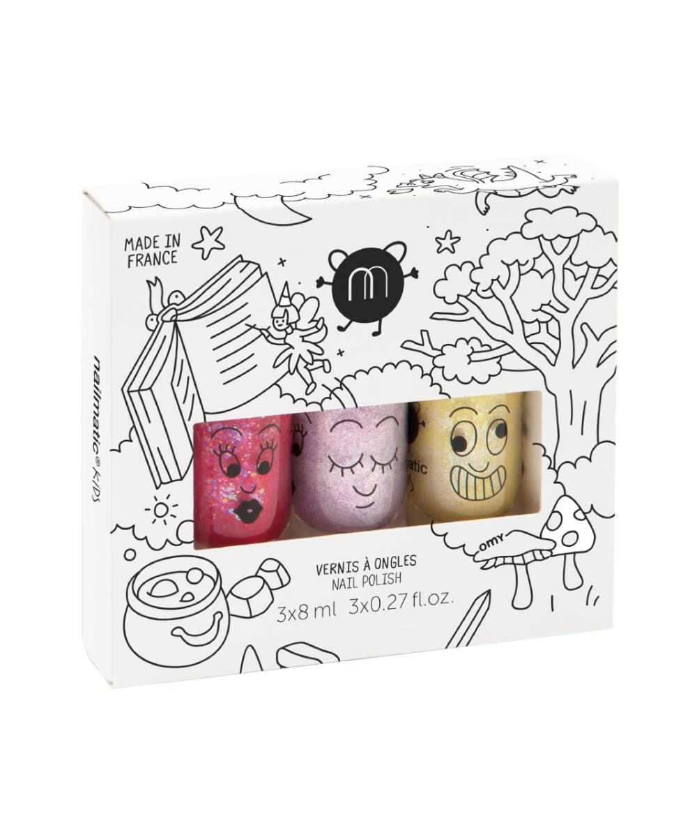 Nailmatic Water Based Nailpolish Set Magic Forest (Kids)