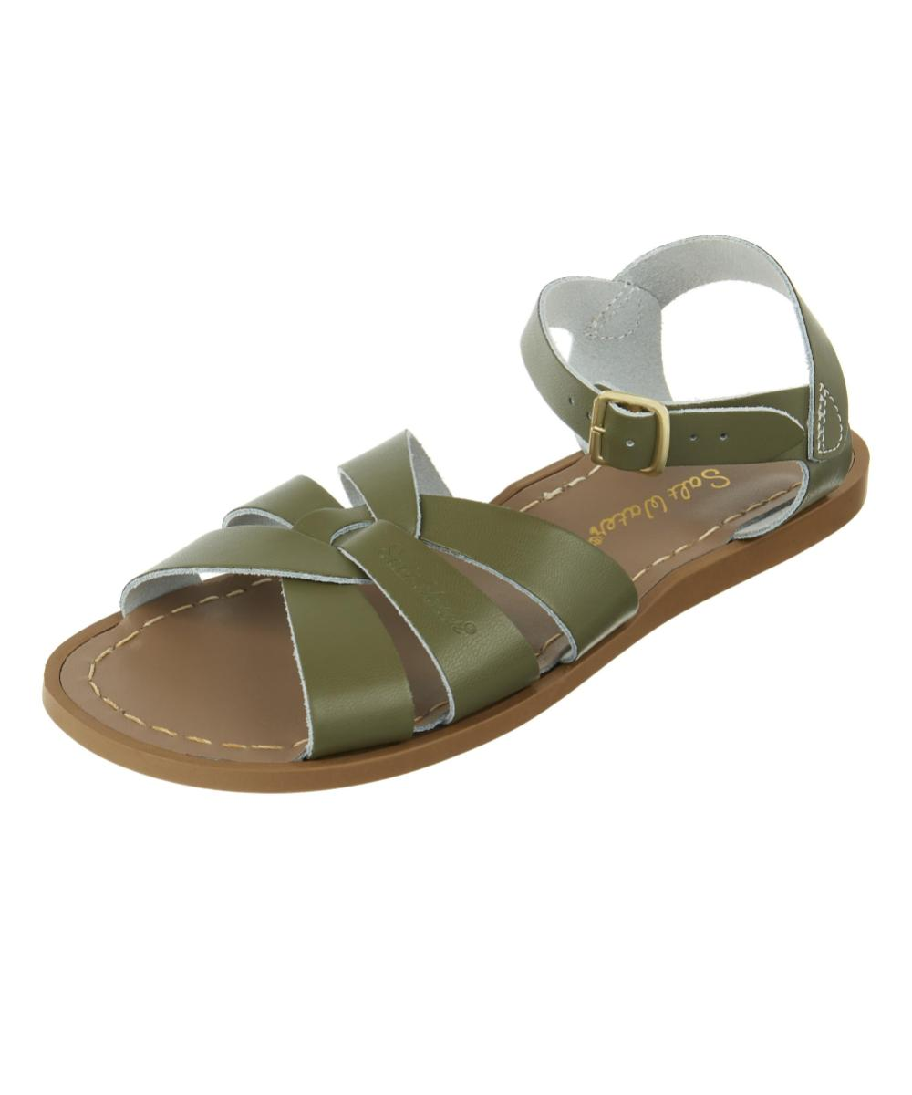 Salt-Water Sandals Original Olive Adult & Kids