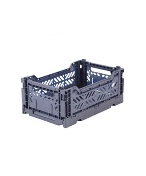 Aykasa Folding Crate - Mini Cobalt Blue