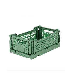 Aykasa Folding Crate - Mini Almond Green