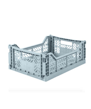 Aykasa Folding Crate - Midi Pale Blue