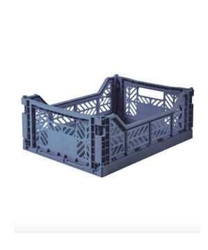 Aykasa Folding Crate - Midi Cobalt blue