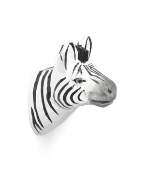 Ferm Living Animal Hand-Carved Hook Zebra