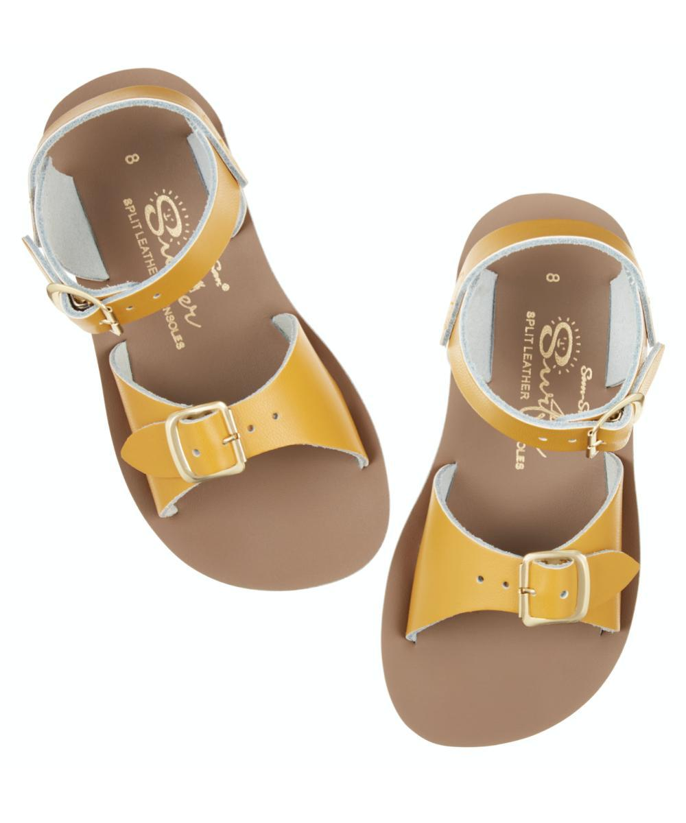 Salt-Water Sandals Kids Surfer Mustard