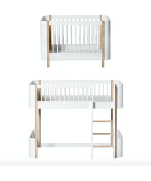 Oliver Furniture uitbouw-kit voor mini+ loftbed