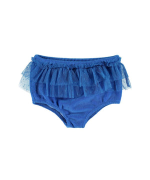 Piupiuchick Baby highwaist shorties blue