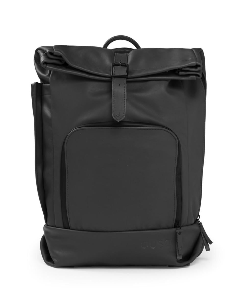 Dusq Family Bag Night Black Leather