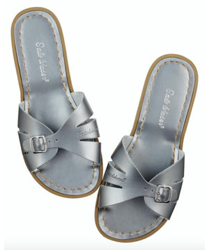 Salt-Water Sandals Adult Slide Pewter