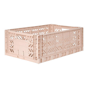 Aykasa Folding Crate - Maxi Milk Tea