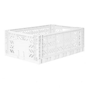 Aykasa Folding Crate - Maxi White