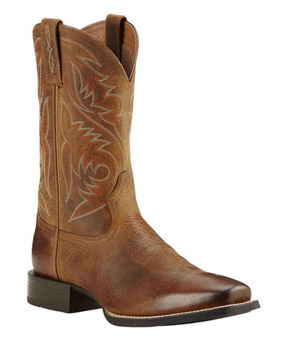 Ariat® Men's Sport Herdsman Boots - Powder Brown