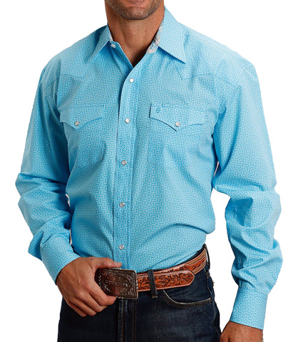 Stetson© Men's Blue This And That Shirt