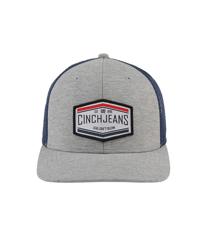 CINCH MENS GREY MESH BACK CAP