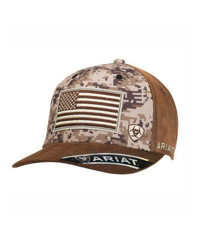 ARIAT® MENS DIGITAL CAMO SNAPBACK CAP