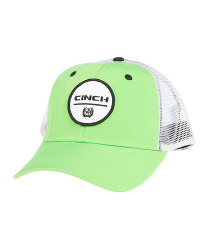 CINCH MENS LIME MESH BACK CAP
