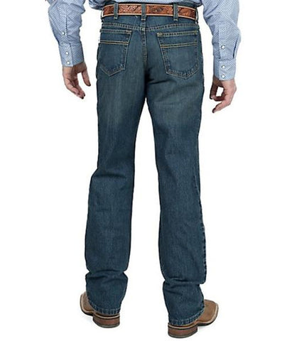 CINCH MEN'S WHITE LABEL RELAXED FIT JEAN - DARK STONEWASH