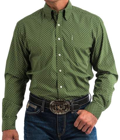 Cinch Men's Olive Modern Fit Shirt