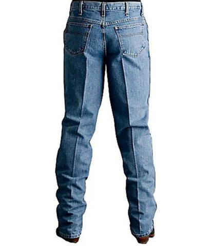 CINCH MEN'S GREEN LABEL RELAXED FIT JEAN- MEDIUM STONEWASH