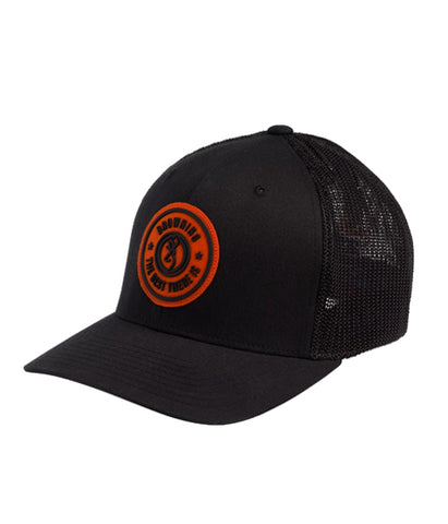BROWNING DUSTED BLACK CAP - L/XL