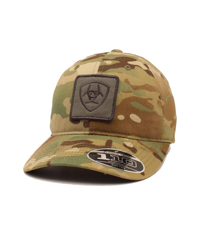 ARIAT® MENS GREEN MULTI CAMO CAP