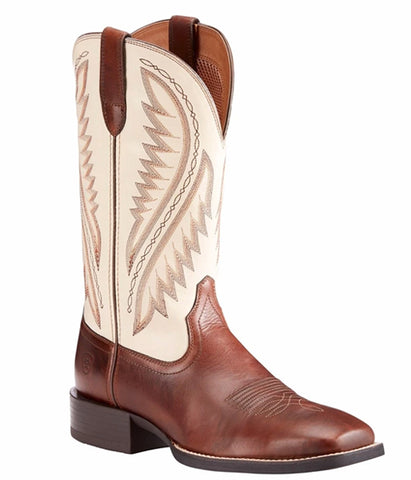 Ariat® Men's Sport Stonewall Cream Brown Western Boots