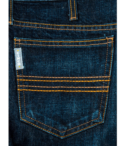 CINCH SLIM FIT SILVER LABEL JEANS - DARK RINSE