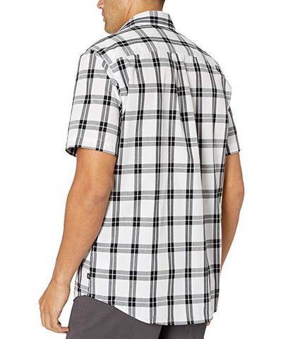 Chaps Men's White Short-Sleeve Easy Care Shirt