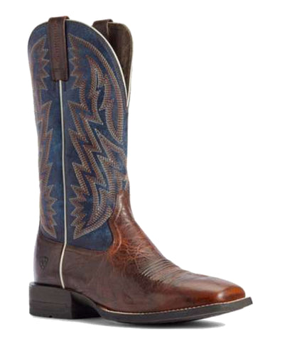 Ariat® Men's Dynamic Brown Patina/Blue Dusk Western Boot