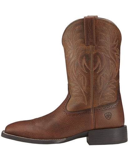 Ariat® Men's Sport Wide Square Toe Western Boot