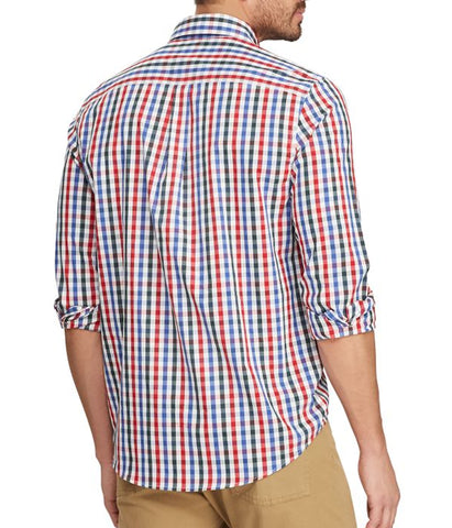Chaps Men's Long Sleeve Multi Shirt